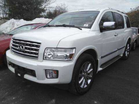 2010 Infiniti QX56 for sale at Plymouthe Motors in Leominster MA