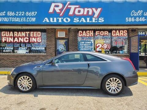 2013 Cadillac CTS for sale at R Tony Auto Sales in Clinton Township MI