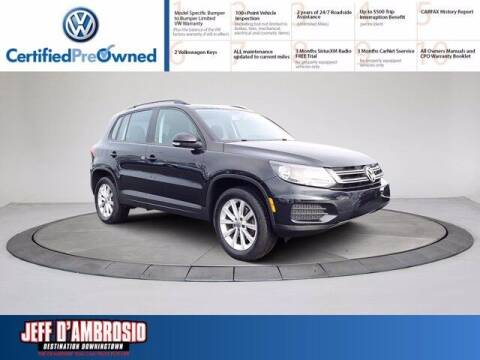 2017 Volkswagen Tiguan for sale at Jeff D'Ambrosio Auto Group in Downingtown PA