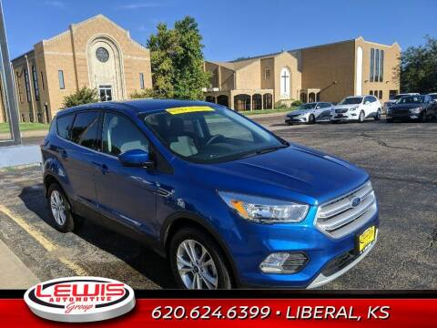 2019 Ford Escape for sale at Lewis Chevrolet Buick Cadillac of Liberal in Liberal KS