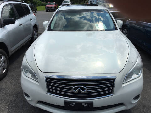 2013 Infiniti M37 for sale at Karlins Auto Sales LLC in Saratoga Springs NY