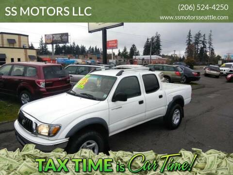 2003 Toyota Tacoma for sale at SS MOTORS LLC in Edmonds WA