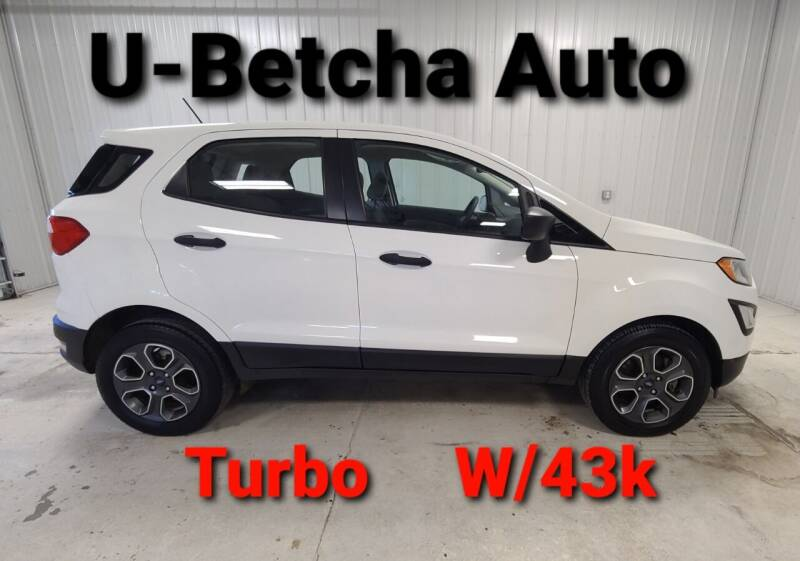 2018 Ford EcoSport for sale at Ubetcha Auto in St. Paul NE