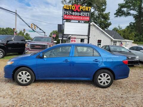 2009 Toyota Corolla for sale at Autoxport in Newport News VA
