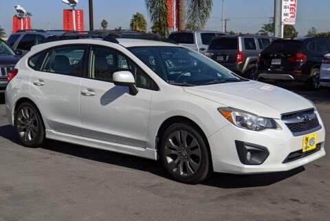 2013 Subaru Impreza for sale at CARSTER in Huntington Beach CA