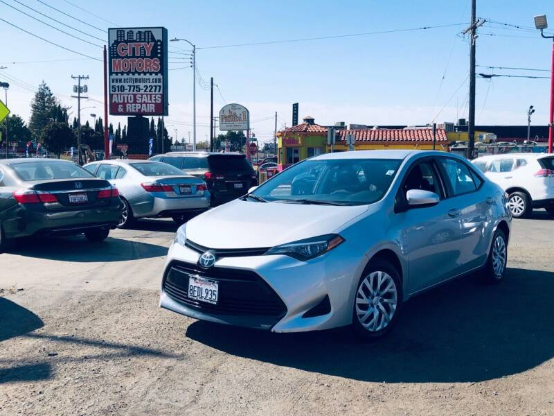 2019 Toyota Corolla for sale at City Motors in Hayward CA