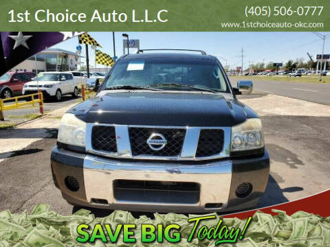 2007 Nissan Armada for sale at 1st Choice Auto L.L.C in Oklahoma City OK