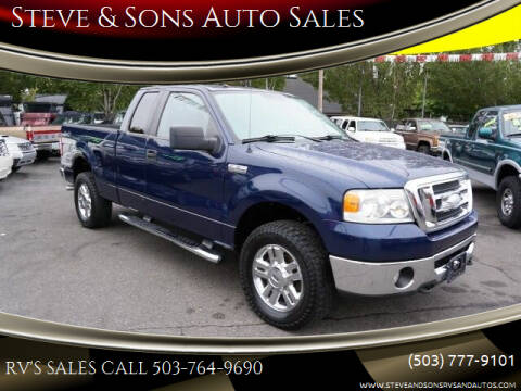 2008 Ford F-150 for sale at Steve & Sons Auto Sales in Happy Valley OR