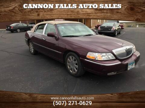 2007 Lincoln Town Car for sale at Cannon Falls Auto Sales in Cannon Falls MN