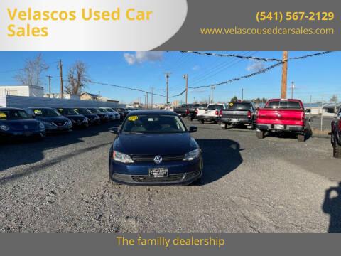 2013 Volkswagen Jetta for sale at Velascos Used Car Sales in Hermiston OR