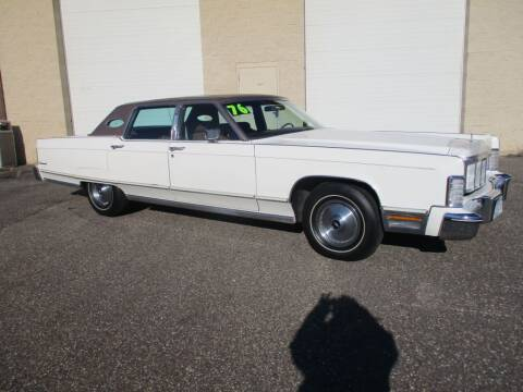 1976 Lincoln Continental for sale at Route 65 Sales & Classics LLC - Classic Cars in Ham Lake MN