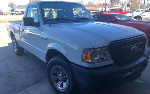 2011 Ford Ranger for sale at Creekside Automotive in Lexington NC