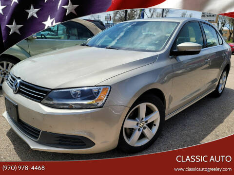 2013 Volkswagen Jetta for sale at Classic Auto in Greeley CO