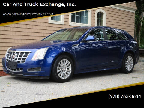 2013 Cadillac CTS for sale at Car and Truck Exchange, Inc. in Rowley MA
