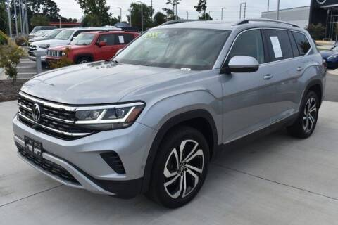 2021 Volkswagen Atlas for sale at PHIL SMITH AUTOMOTIVE GROUP - MERCEDES BENZ OF FAYETTEVILLE in Fayetteville NC