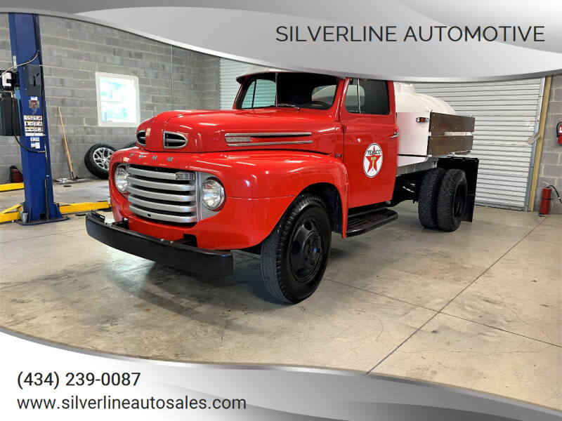 1950 Ford F4 for sale at Silverline Automotive in Lynchburg VA