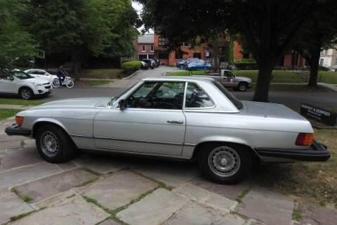 1978 Mercedes-Benz 450 SL for sale at Classic Car Deals in Cadillac MI