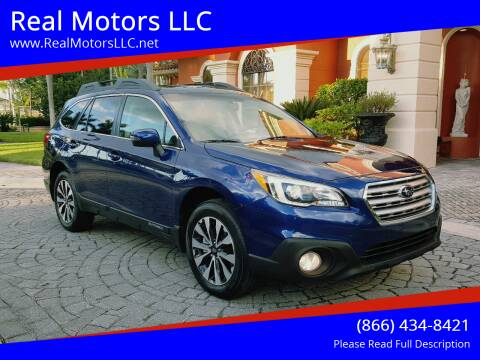 2017 Subaru Outback for sale at Real Motors LLC in Clearwater FL