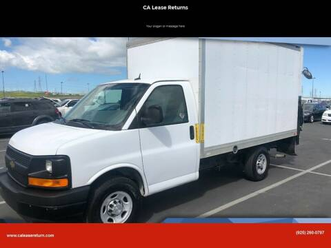 2015 Chevrolet Express Cutaway for sale at CA Lease Returns in Livermore CA