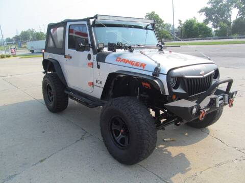 2007 Jeep Wrangler for sale at tazewellauto.com in Tazewell TN