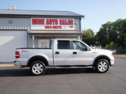 2008 Ford F-150 for sale at ENON AUTO SALES in Enon OH