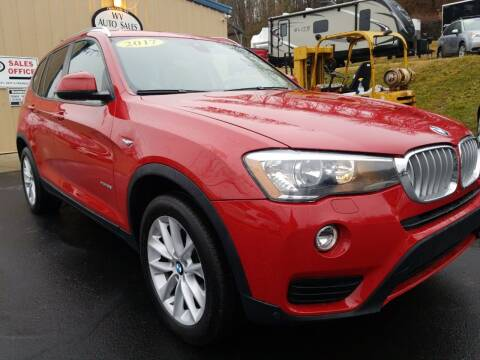 2017 BMW X3 for sale at W V Auto & Powersports Sales in Cross Lanes WV