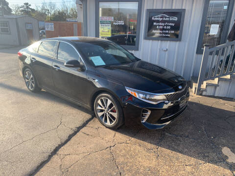 2016 Kia Optima for sale at Rutledge Auto Group in Palestine TX