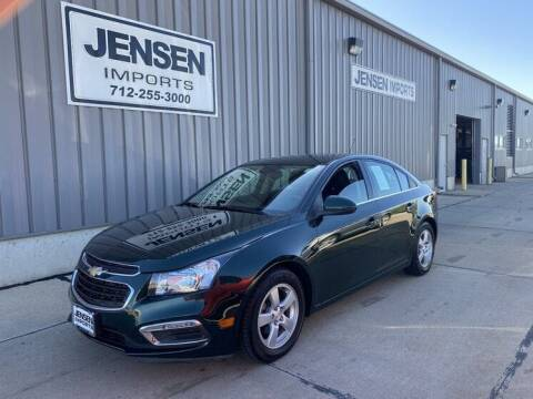 2015 Chevrolet Cruze for sale at Jensen's Dealerships in Sioux City IA