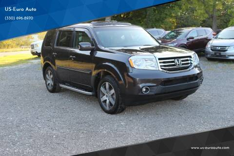 2012 Honda Pilot for sale at US-Euro Auto in Burton OH