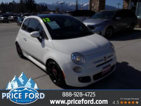 2012 FIAT 500 for sale at Price Ford Lincoln in Port Angeles WA