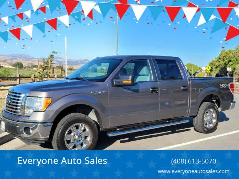 2011 Ford F-150 for sale at Everyone Auto Sales in Santa Clara CA