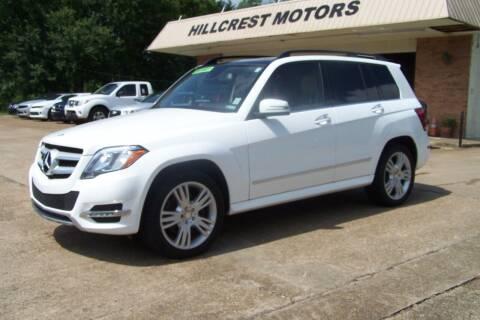2015 Mercedes-Benz GLK for sale at HILLCREST MOTORS LLC in Byram MS