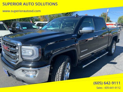2016 GMC Sierra 1500 for sale at SUPERIOR AUTO SOLUTIONS in Spearfish SD
