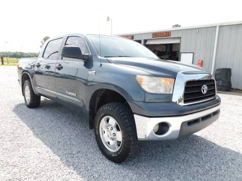 2008 Toyota Tundra for sale at ARDMORE AUTO SALES in Ardmore AL