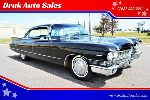 1960 Cadillac Series 62 for sale at Druk Auto Sales in Ramsey MN