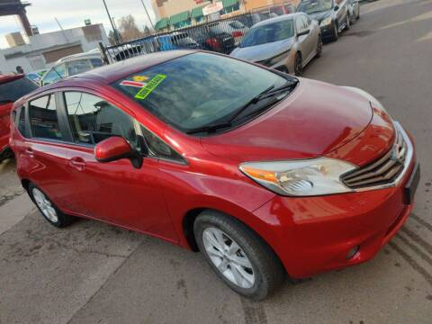 2014 Nissan Versa Note for sale at Sanaa Auto Sales LLC in Denver CO