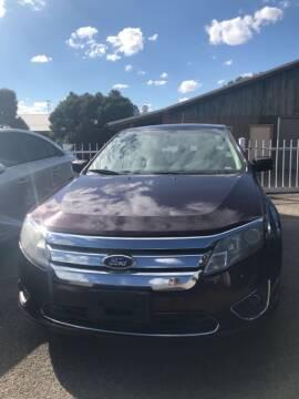 2012 Ford Fusion for sale at Top Gun Auto Sales, LLC in Albuquerque NM