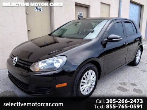 2011 Volkswagen Golf for sale at Selective Motor Cars in Miami FL