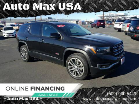 2017 GMC Acadia for sale at Auto Max USA in Yakima WA
