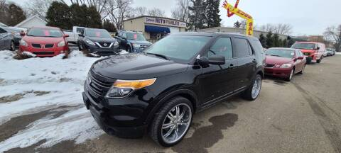 2015 Ford Explorer for sale at Steve's Auto Sales in Madison WI