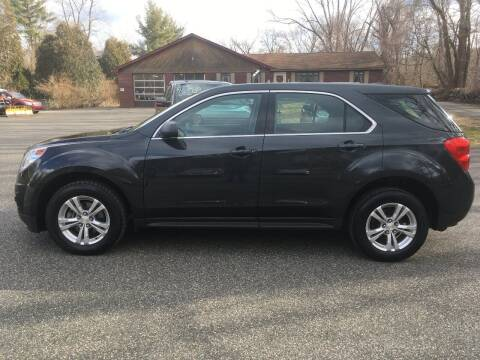 2014 Chevrolet Equinox for sale at Lou Rivers Used Cars in Palmer MA
