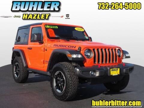 2018 Jeep Wrangler for sale at Buhler and Bitter Chrysler Jeep in Hazlet NJ