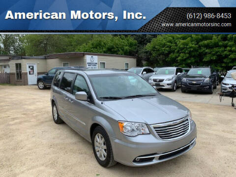 2015 Chrysler Town and Country for sale at American Motors, Inc. in Farmington MN