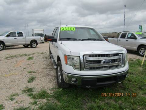 2013 Ford F-150 for sale at Hill Top Sales in Brenham TX