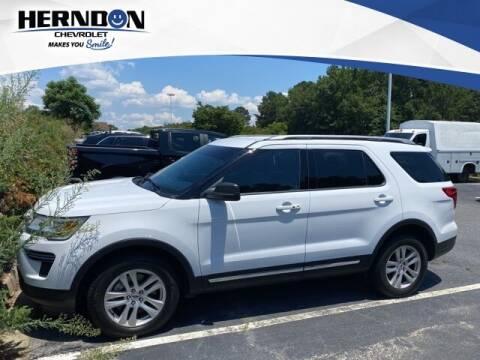 2018 Ford Explorer for sale at Herndon Chevrolet in Lexington SC