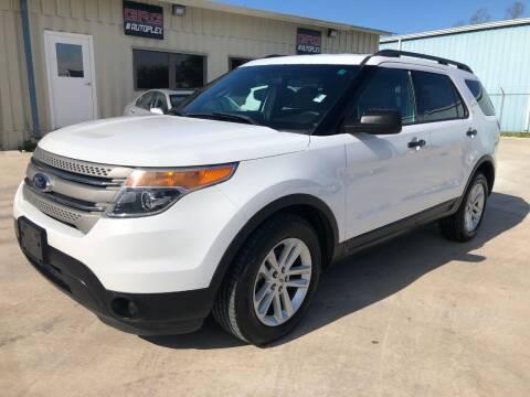 2015 Ford Explorer for sale at GRG Auto Plex in Houston TX