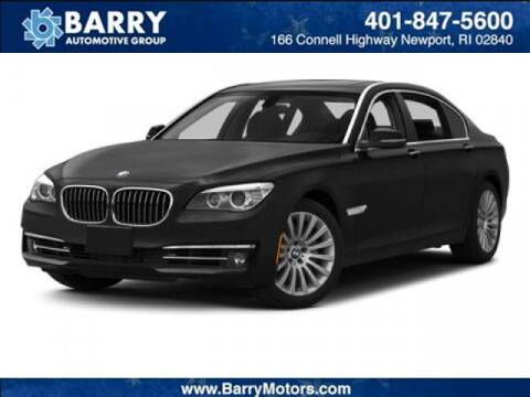 2013 BMW 7 Series for sale at BARRYS Auto Group Inc in Newport RI