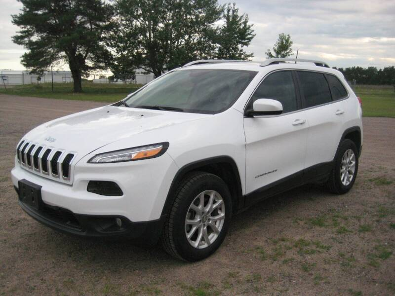 2017 Jeep Cherokee for sale at Rice Auto Sales in Rice MN