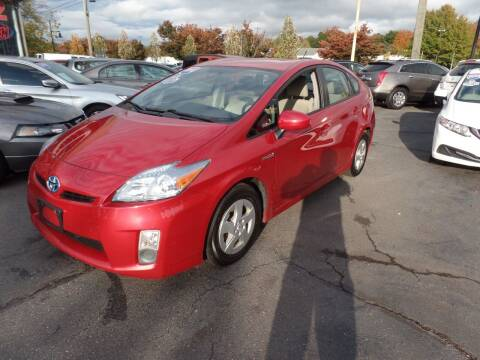 2010 Toyota Prius for sale at CAR CORNER RETAIL SALES in Manchester CT