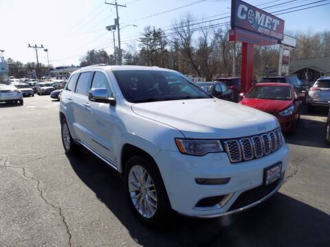 2017 Jeep Grand Cherokee for sale at Comet Auto Sales in Manchester NH